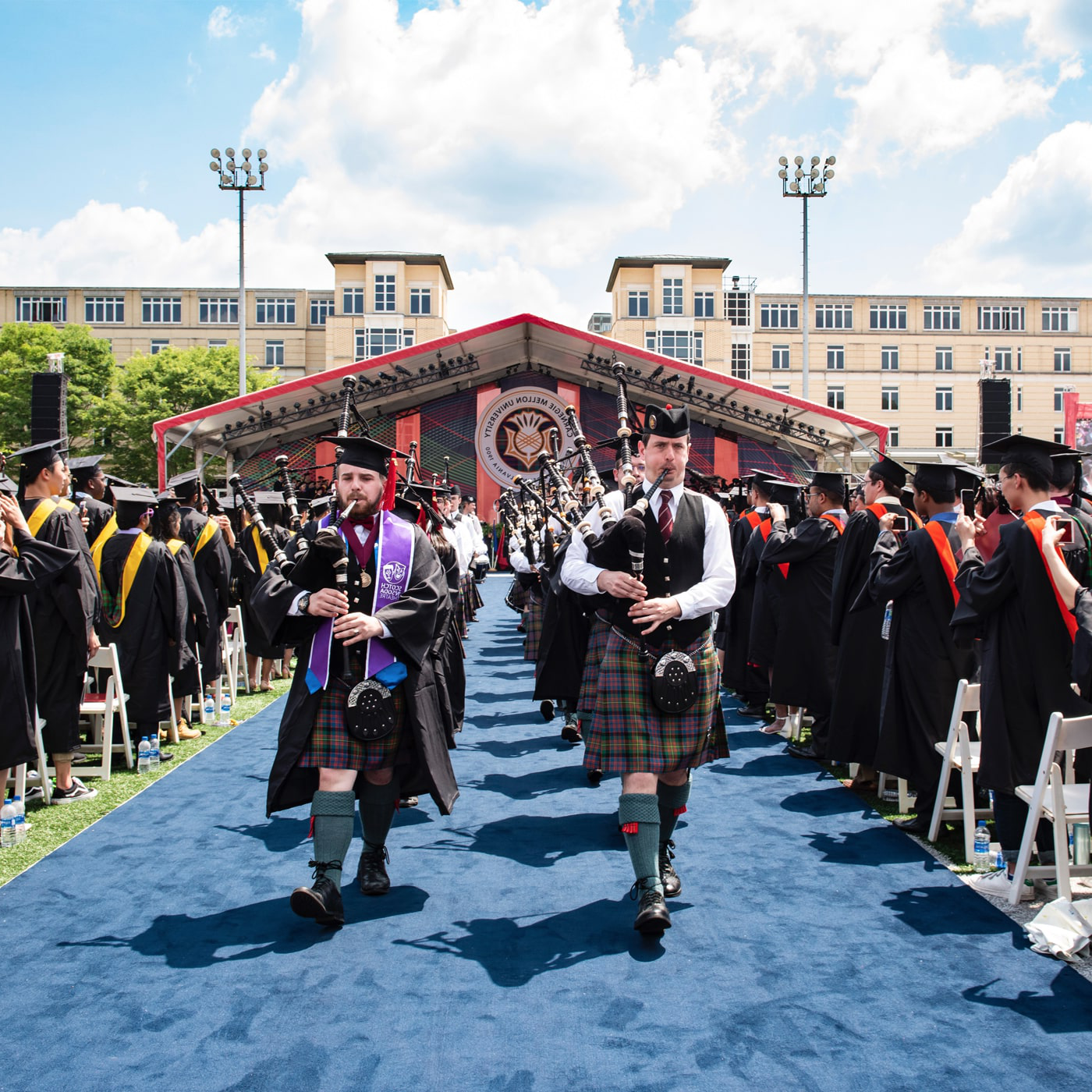 A photo of the Commencement ceremonies