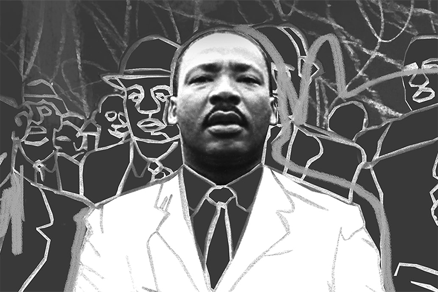 Photo of Dr. Martin Luther King Jr.